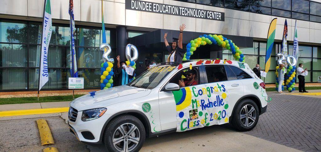 SCTC Celebrates Graduates with Parade