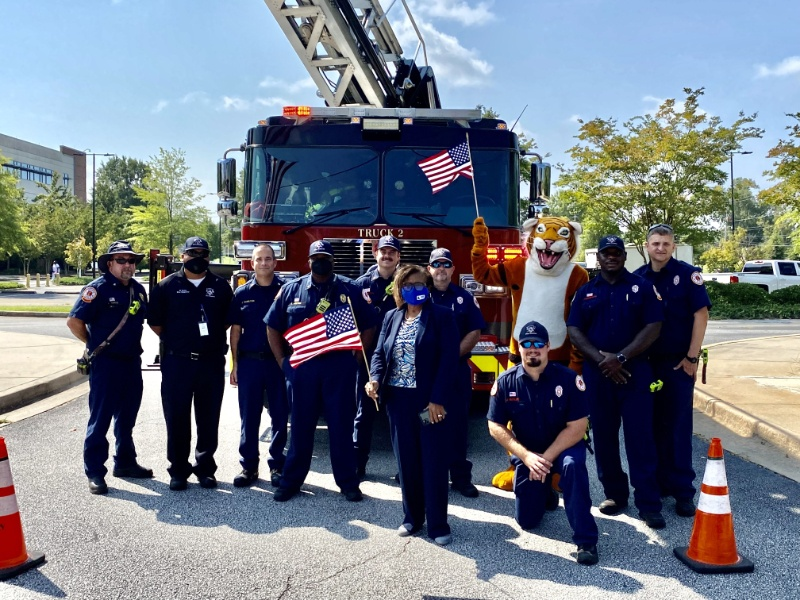 SCTC Remembers 9/11 and Celebrates Local First Responders