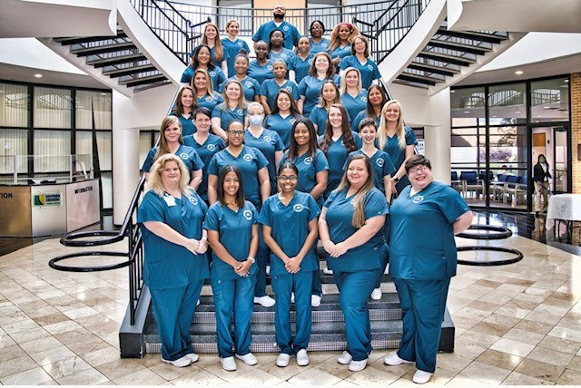 SCTC Pins 35 Registered Nurse Graduates at Outdoor Ceremony