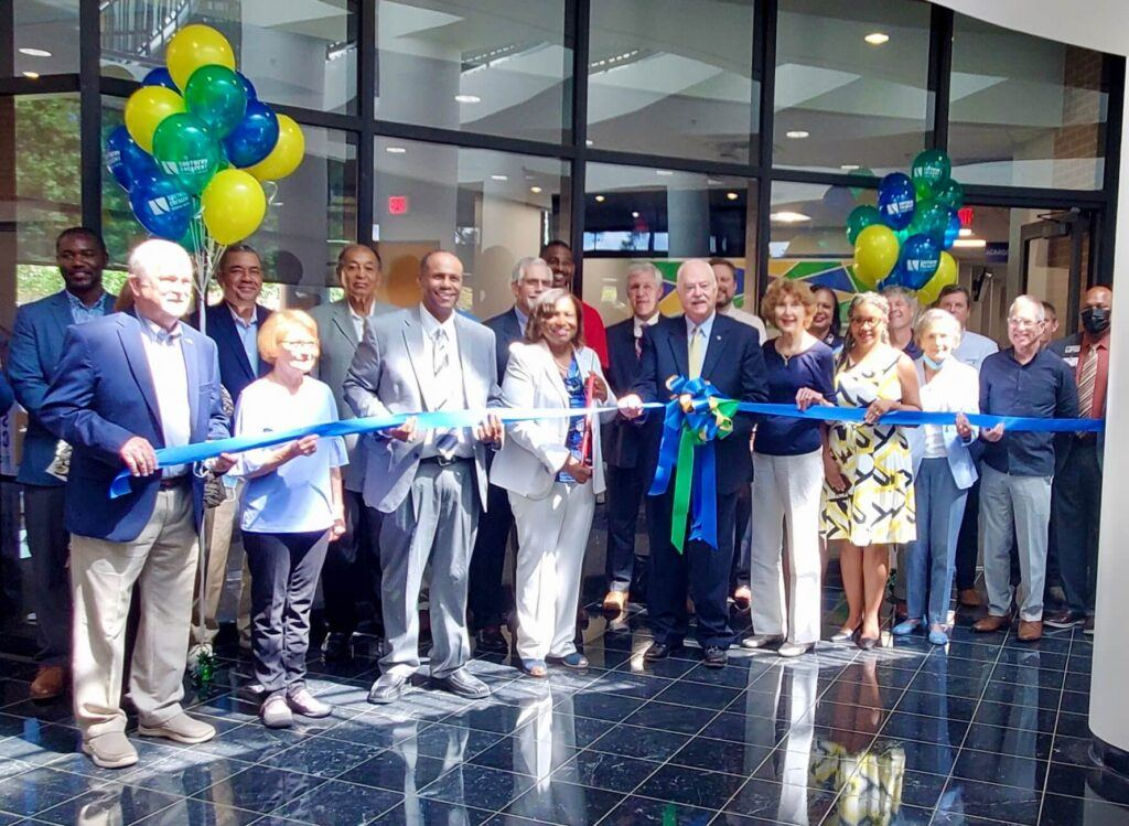 Ribbon Cutting and Open House Held for Renovated Areas on the Griffin Campus
