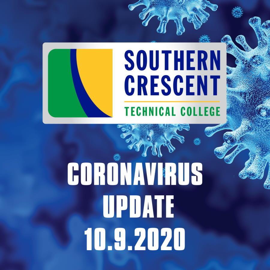 CORONAVIRUS UDATE 10/9/2020: A Message from SCTC President, Dr. Alvetta Thomas