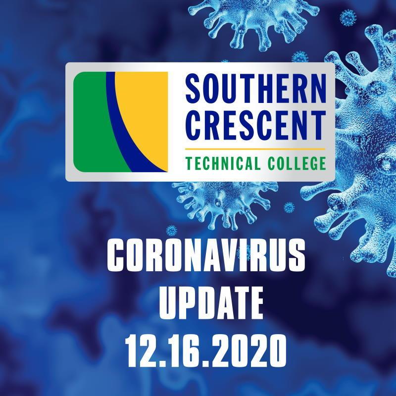 CORONAVIRUS UDATE 12/16/2020: A Message from SCTC President, Dr. Alvetta Thomas