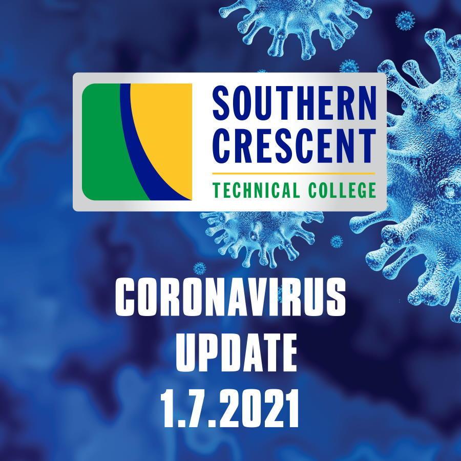 CORONAVIRUS UDATE 1/6/2021: A Message from SCTC President, Dr. Alvetta Thomas