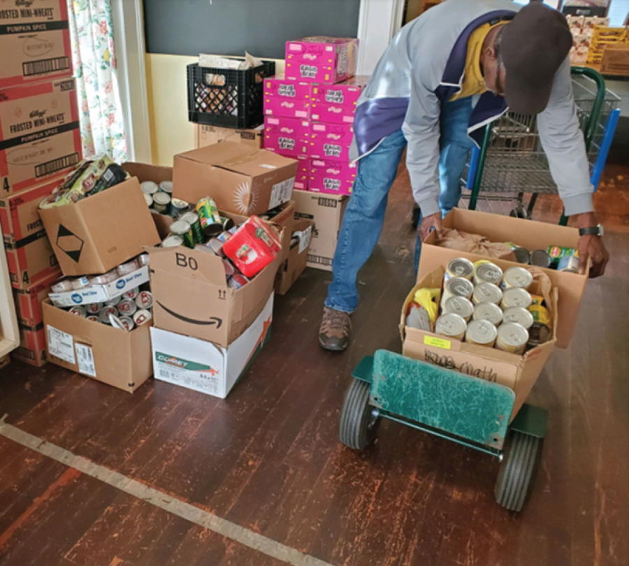 SCTC Holds Thanksgiving Food Drive for Local Charities