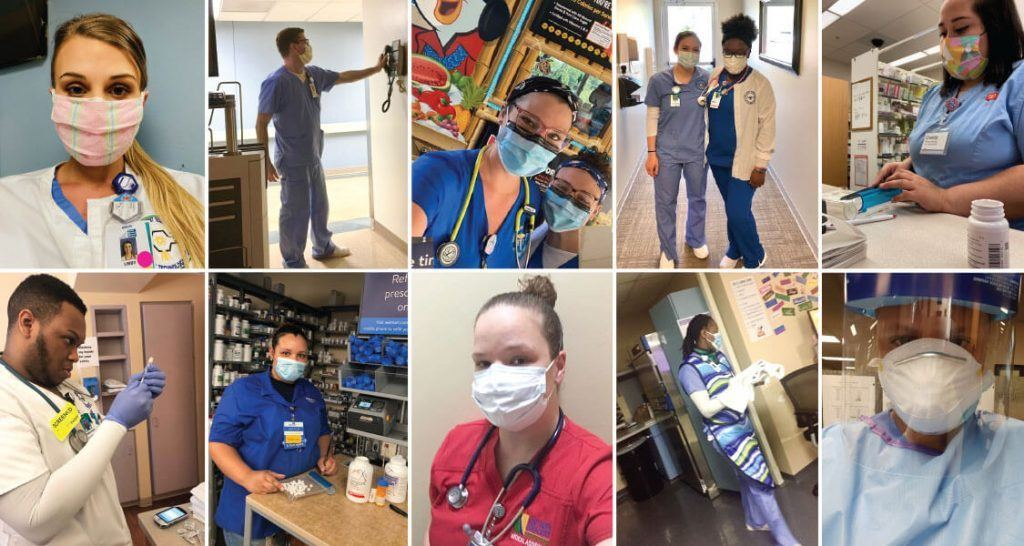 SCTC Allied Health Students Continue Training on the Front Line During Pandemic